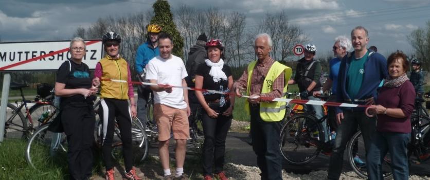 Sortie vélo avec Trajets le 1er avril
