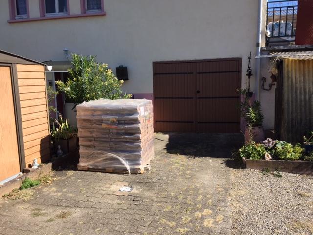 Livraison bois et granulés début octobre Fioultech