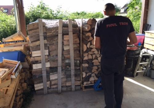 Livraison de 4 stères de bois – 29 juin