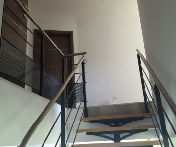 Rampe escalier en métal LV metal