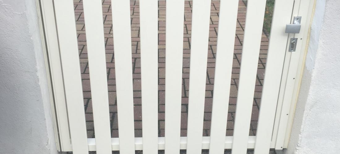 Portillon en aluminium thermolaqué